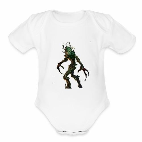 sprigganbody3 - Organic Short Sleeve Baby Bodysuit