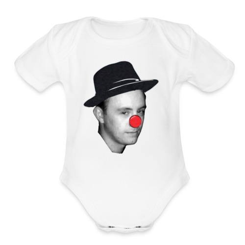 Once upon a bitch - Organic Short Sleeve Baby Bodysuit