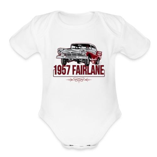 Twisted Farlaine 1957 Gasser - Organic Short Sleeve Baby Bodysuit