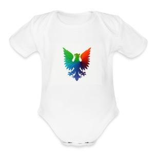 coolcats: t-shirt - Short Sleeve Baby Bodysuit
