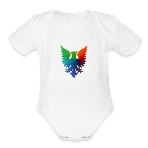 coolcats: t-shirt - Organic Short Sleeve Baby Bodysuit