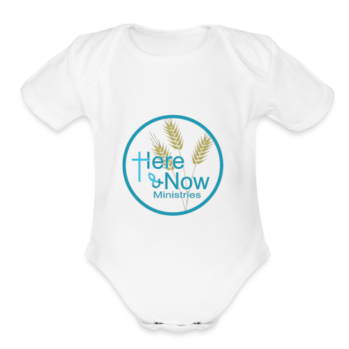 Here & Now - Organic Short Sleeve Baby Bodysuit