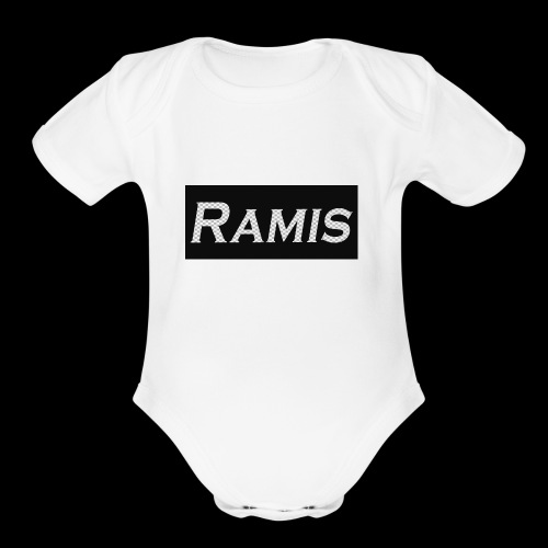 RAMIS MERCH - Organic Short Sleeve Baby Bodysuit