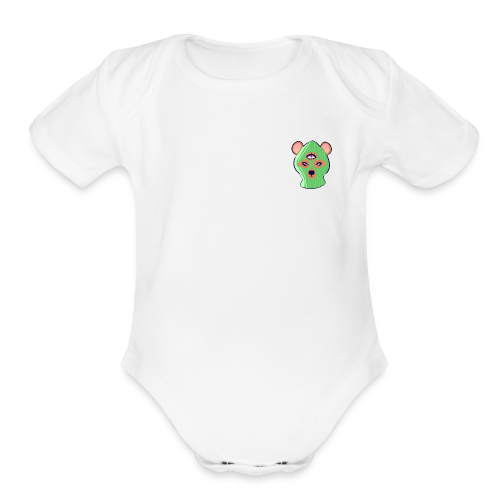 The Wise Goblin - Organic Short Sleeve Baby Bodysuit