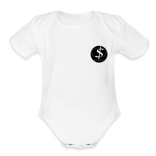 $$$@CASHMONEY - Organic Short Sleeve Baby Bodysuit