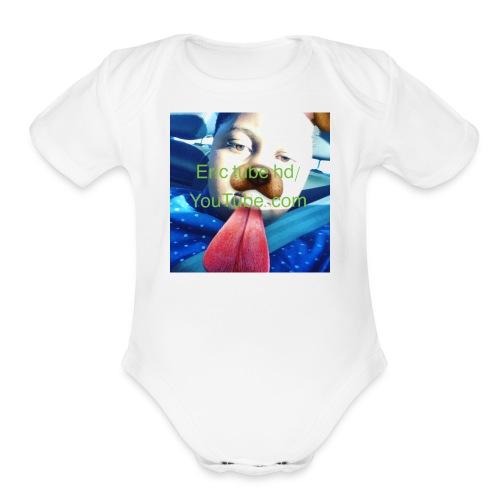 Eric - Organic Short Sleeve Baby Bodysuit