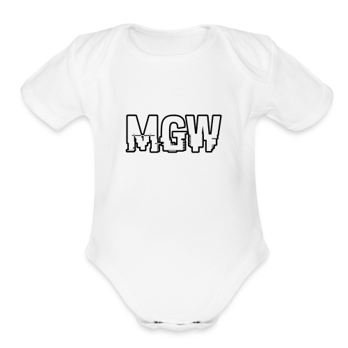 Hacker MGW - Organic Short Sleeve Baby Bodysuit