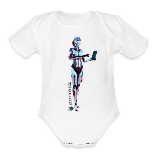 P.A.M.E.L.A. SecRT - Organic Short Sleeve Baby Bodysuit