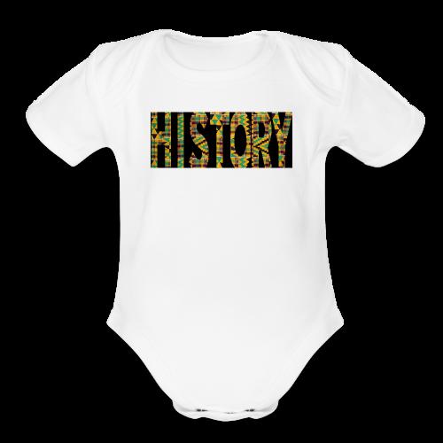 #Woke - Organic Short Sleeve Baby Bodysuit