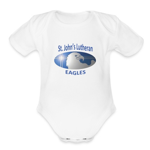 Basic Logo - Organic Short Sleeve Baby Bodysuit