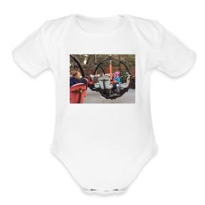 Nicole At Hershey Merch - Short Sleeve Baby Bodysuit