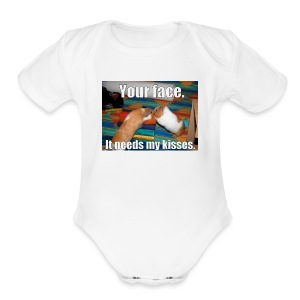 UDSYFIOwehipgwaepfihweihuaegwiaweiupfg - Short Sleeve Baby Bodysuit