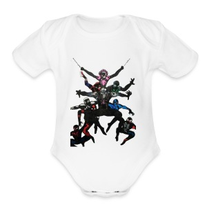 The Pro Big Leagues - Short Sleeve Baby Bodysuit