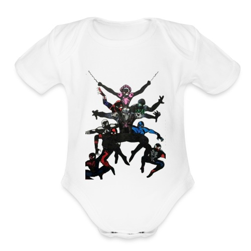 The Pro Big Leagues - Organic Short Sleeve Baby Bodysuit