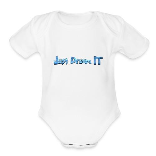 Just Dream It - Organic Short Sleeve Baby Bodysuit