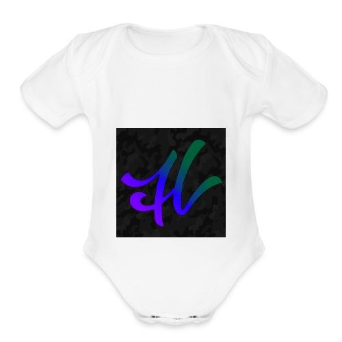 hydra - Organic Short Sleeve Baby Bodysuit