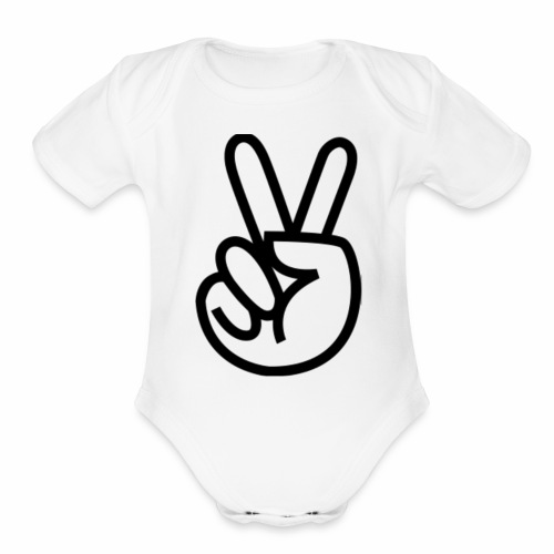 Merchendice - Organic Short Sleeve Baby Bodysuit