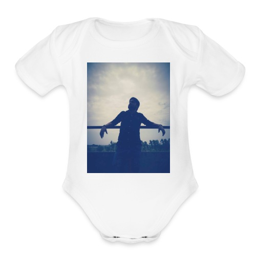 Men's Tshirt with ManuImage - Organic Short Sleeve Baby Bodysuit