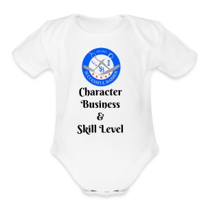SB Seal Design - Short Sleeve Baby Bodysuit