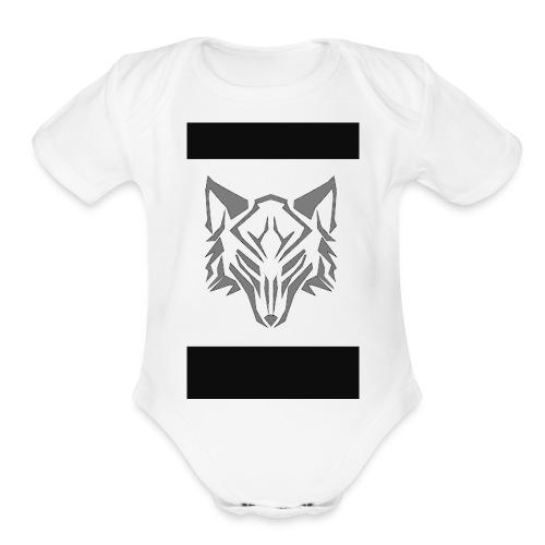 Wolf t-shirts - Organic Short Sleeve Baby Bodysuit