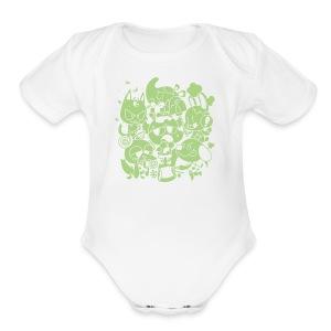 Meet the Neighbors - Short Sleeve Baby Bodysuit