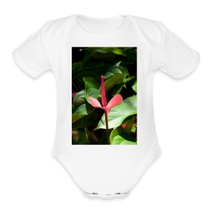 Claudia 0138 - Short Sleeve Baby Bodysuit