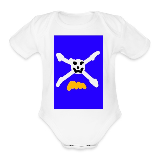 T-Shirt - Organic Short Sleeve Baby Bodysuit