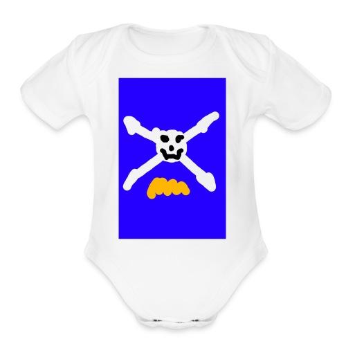 T-Shirt - Organic Short Sleeve Baby Bodysuit