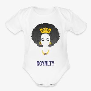 RoyaltyQueen - Short Sleeve Baby Bodysuit