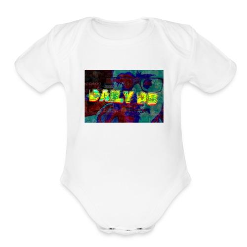 daily db poster - Organic Short Sleeve Baby Bodysuit