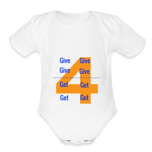 Forgive & Forget - Organic Short Sleeve Baby Bodysuit