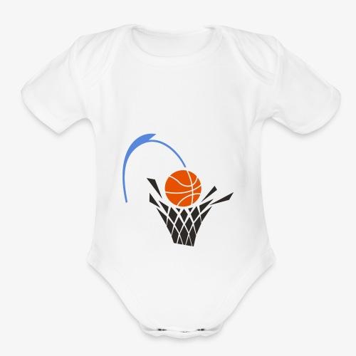 HOOP - Organic Short Sleeve Baby Bodysuit