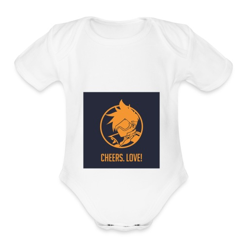 overwatch - Organic Short Sleeve Baby Bodysuit