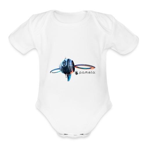 P.A.M.E.L.A. Observer - Organic Short Sleeve Baby Bodysuit