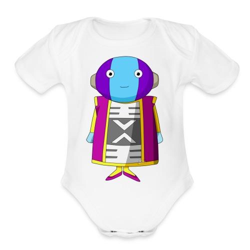 zeno o sama - Organic Short Sleeve Baby Bodysuit