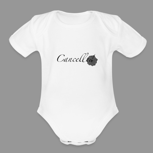 Cancelled - Organic Short Sleeve Baby Bodysuit