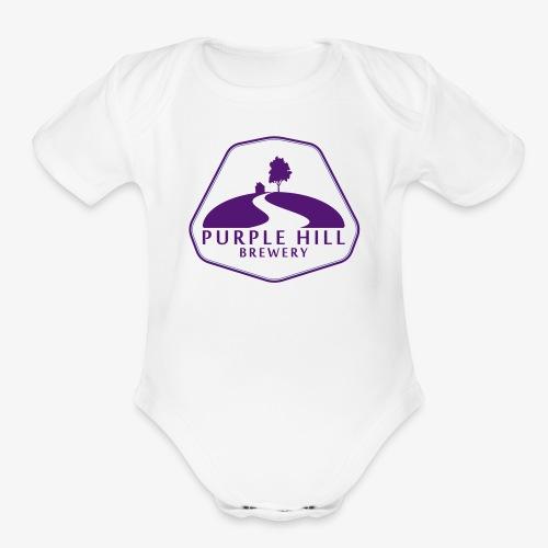 Purple Hill Brewery - Organic Short Sleeve Baby Bodysuit
