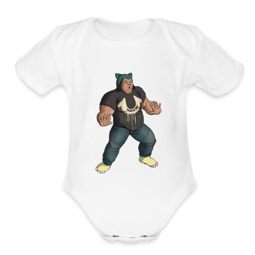 snordatdude - Organic Short Sleeve Baby Bodysuit