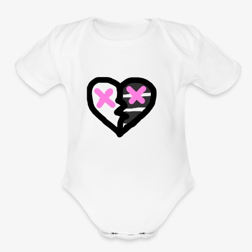 wow - Organic Short Sleeve Baby Bodysuit