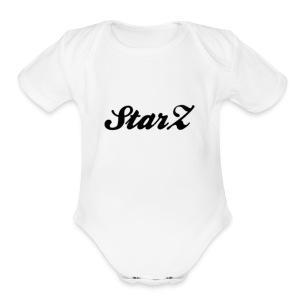 STARZ - Short Sleeve Baby Bodysuit