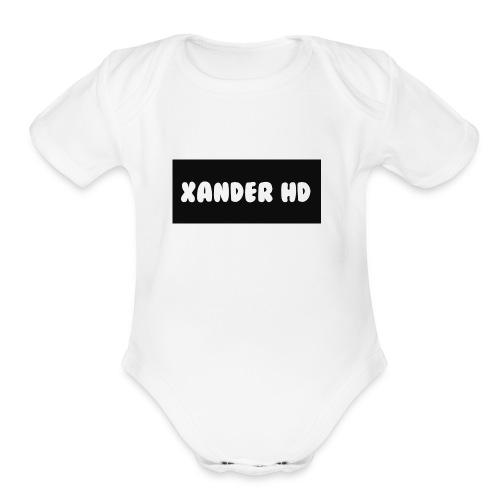 Xanders - Organic Short Sleeve Baby Bodysuit
