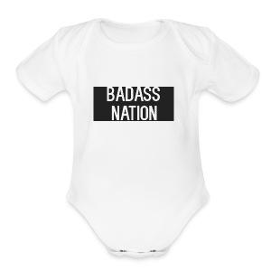 BadassNation - Short Sleeve Baby Bodysuit