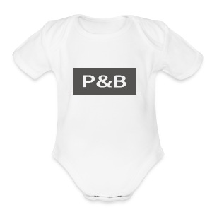 prc brc - Short Sleeve Baby Bodysuit