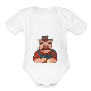 It's American Made! - Short Sleeve Baby Bodysuit
