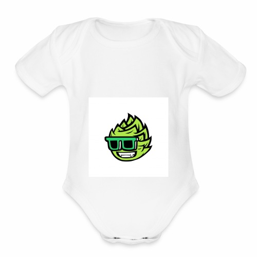 IT IS LIT - Organic Short Sleeve Baby Bodysuit
