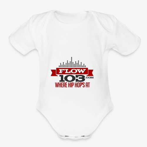 FLOW 103 - Organic Short Sleeve Baby Bodysuit