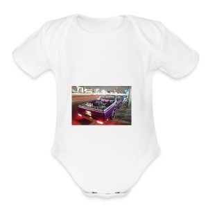 Lowrider Gucci supreme - Short Sleeve Baby Bodysuit