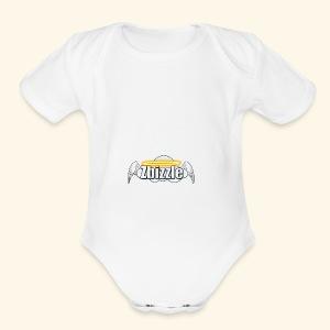 Zbizzle Logo (2) - Short Sleeve Baby Bodysuit