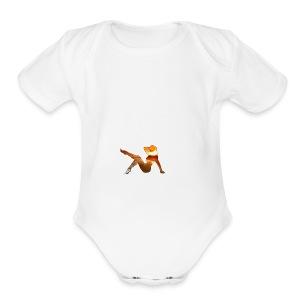 Mother Nature - Short Sleeve Baby Bodysuit
