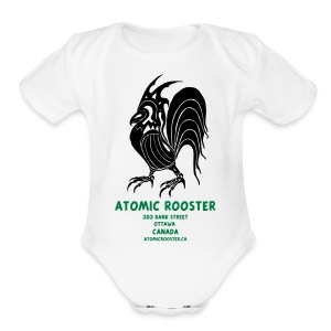 AtomicRooster Tshirt - Short Sleeve Baby Bodysuit
